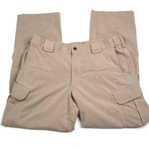 5.11 Tactical Series Mens Cargo Pants Brown 36x32